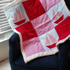 """36"""" x 45"""" Fully washable baby quilt"""